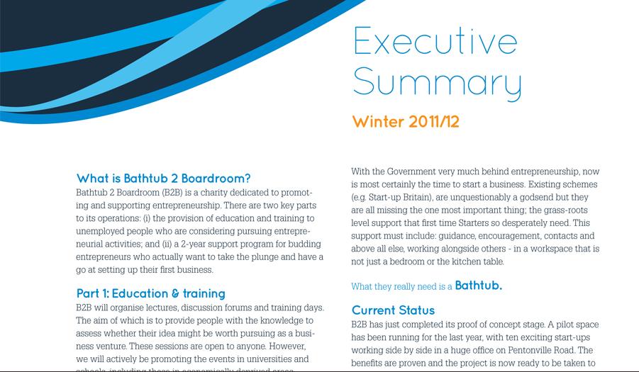 ups executive summary