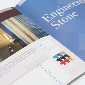 Shot of the new BluePrint 2012 brochure design.