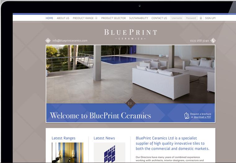 Branding brochure design web design stationery blueprint blueprint ceramics website design by avenue malvernweather Choice Image