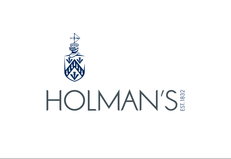 Re-design of independent insurance brokers, Holman's corporate identity.