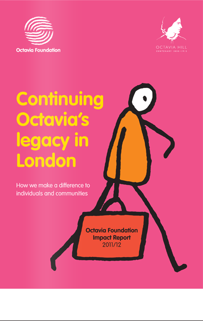 Octavia Foundation Impact Report Cover Design